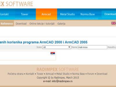 Lista-registrovanih-korisnika-programa-ArmCAD