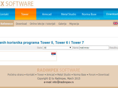 Lista-registrovanih-korisnika-programa-Tower